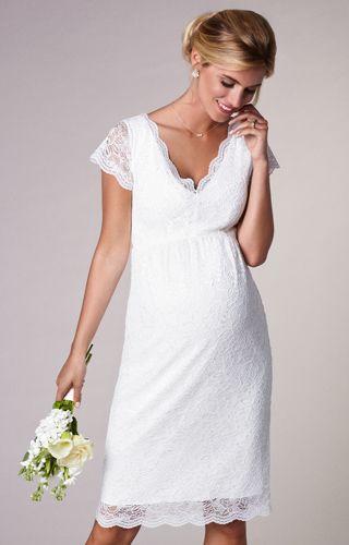 15feca58bbb5a Laura Lace Dress in 2019 | Maternity wedding | Pregnant wedding ...