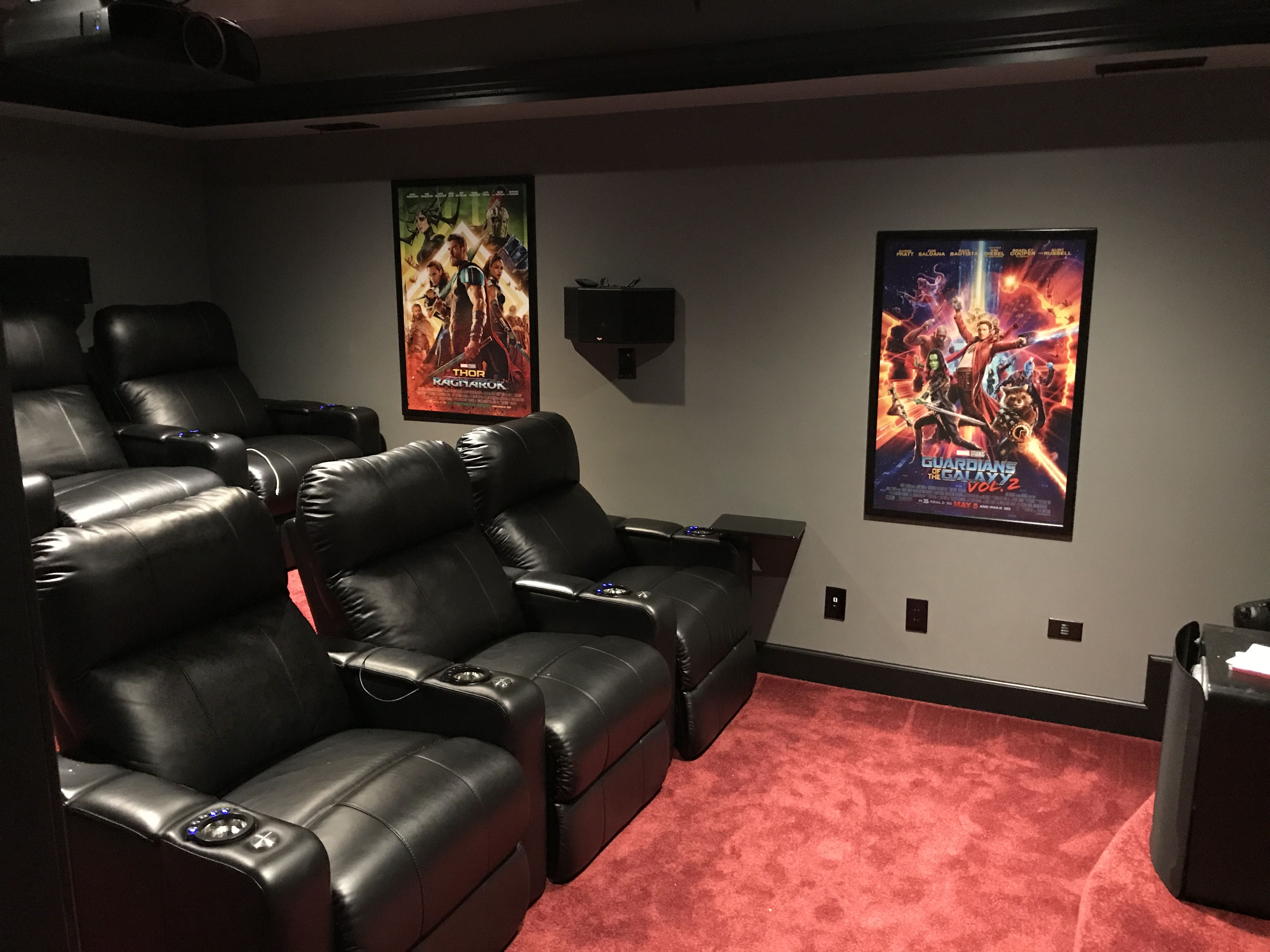 6 Seat Dolby Atmos Home Theater By Tom Schroth Roswell Ga