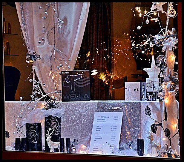 Schaufenster herbst und weihnachten creative deko des webseite schaufensterdeko - Schaufensterdekoration weihnachten ...