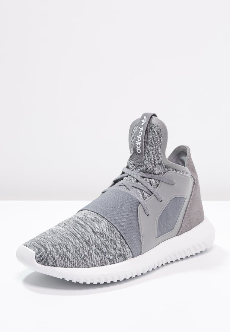 best service 9da3e 794cd adidas Originals TUBULAR DEFIANT - High-top trainers - grey core white for  £90.00 (05 04 16) with free delivery at Zalando