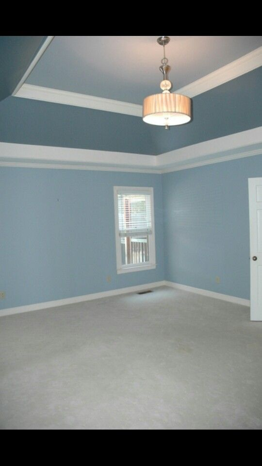 Calming Color And Multicolored Ceiling Trey Ceiling Tray Ceiling Bedroom Painted Tray Ceilings