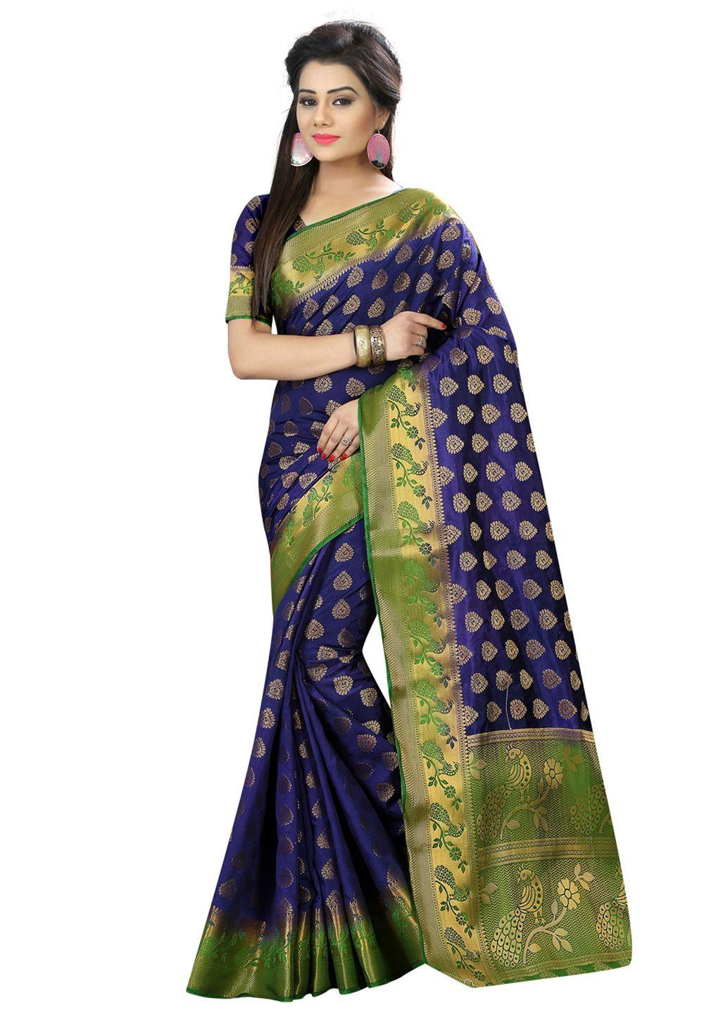 green saree NAYLON BANDEJ Handloom Weaving Silk Saree And blouse for women,saree,saree for women,wedding saree,indian saree,sari,saris