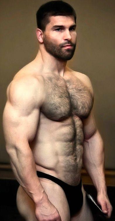Men hairy video