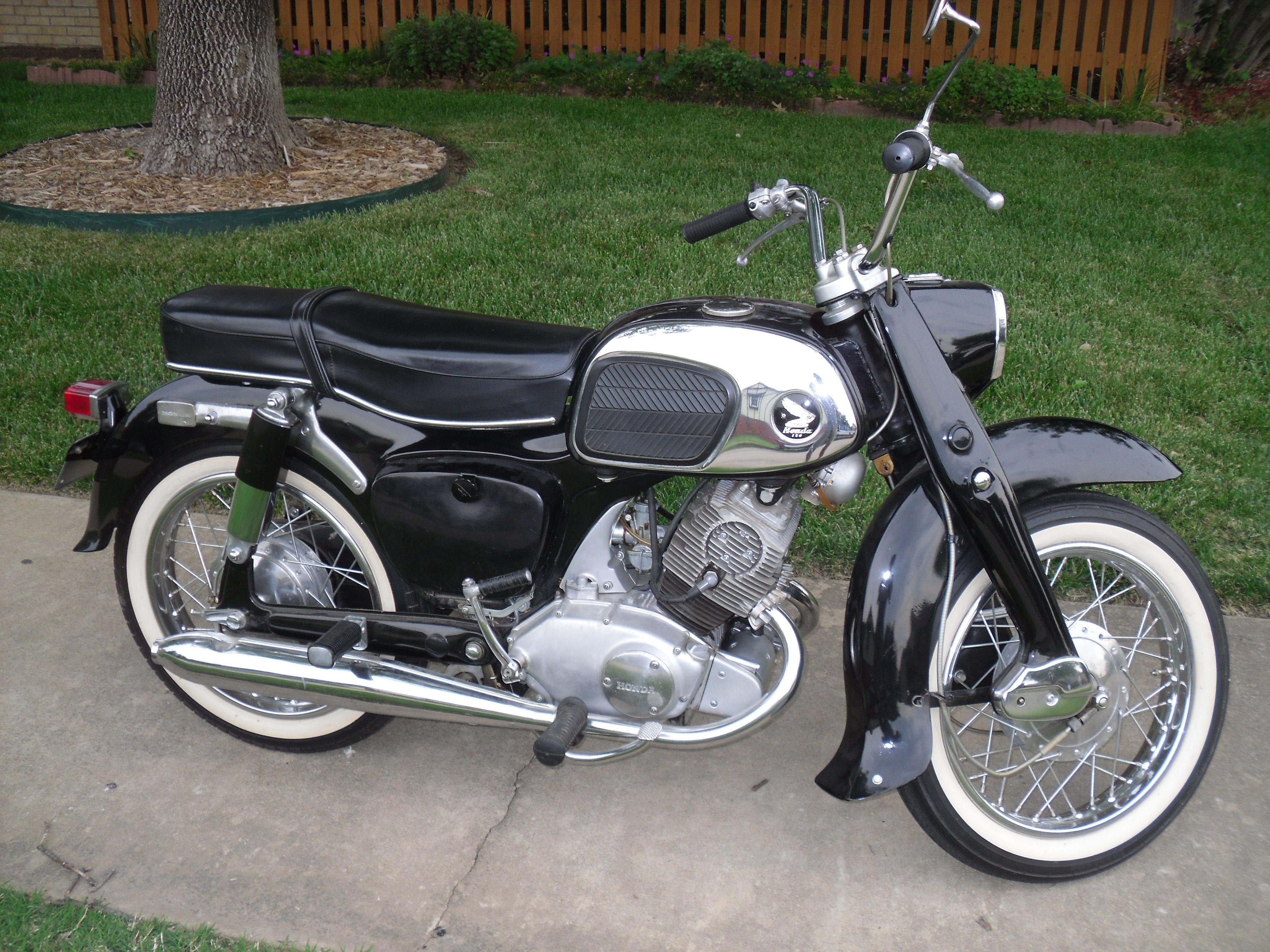 my 64 honda benly 150 check out parts for this and hundreds of rh pinterest com 1965 Honda Cub 55 Trail Honda CA95 Parts