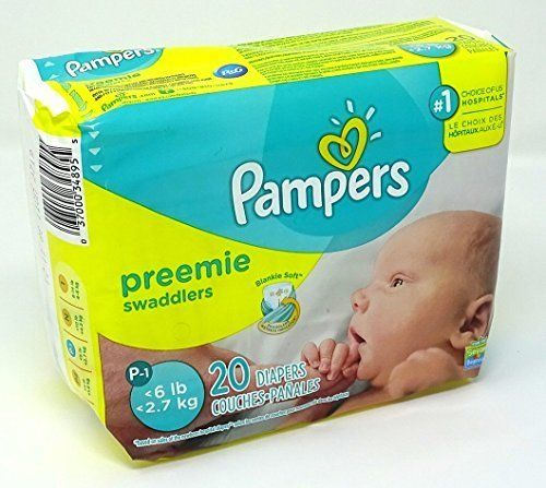 Pampers Swaddlers Preemie Mini Pack 20 Count (With images ...