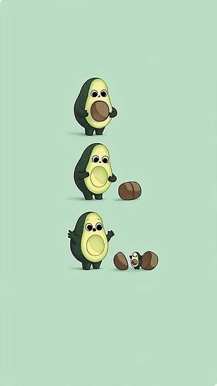 AVOCADO Poster by Kadircinek