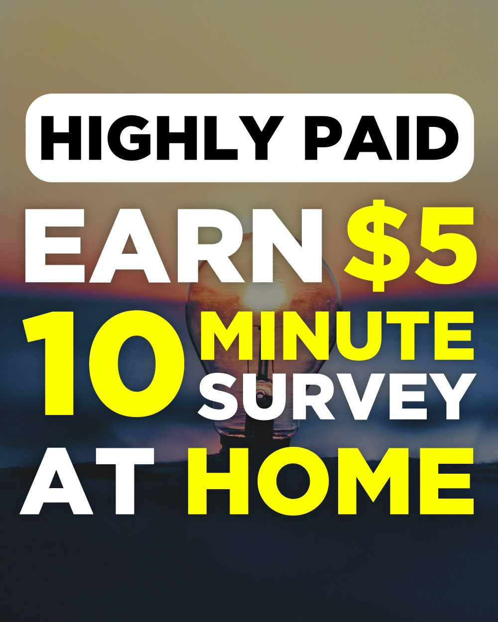 Earn 5 for 10 minute survey goldopinions job humor