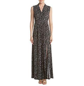 MICHAEL Michael Kors® Petites' Slit Maxi Dress
