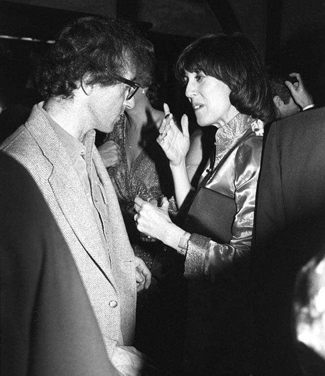 Encontro | Woody Allen e Nora Ephron | Embrulhador