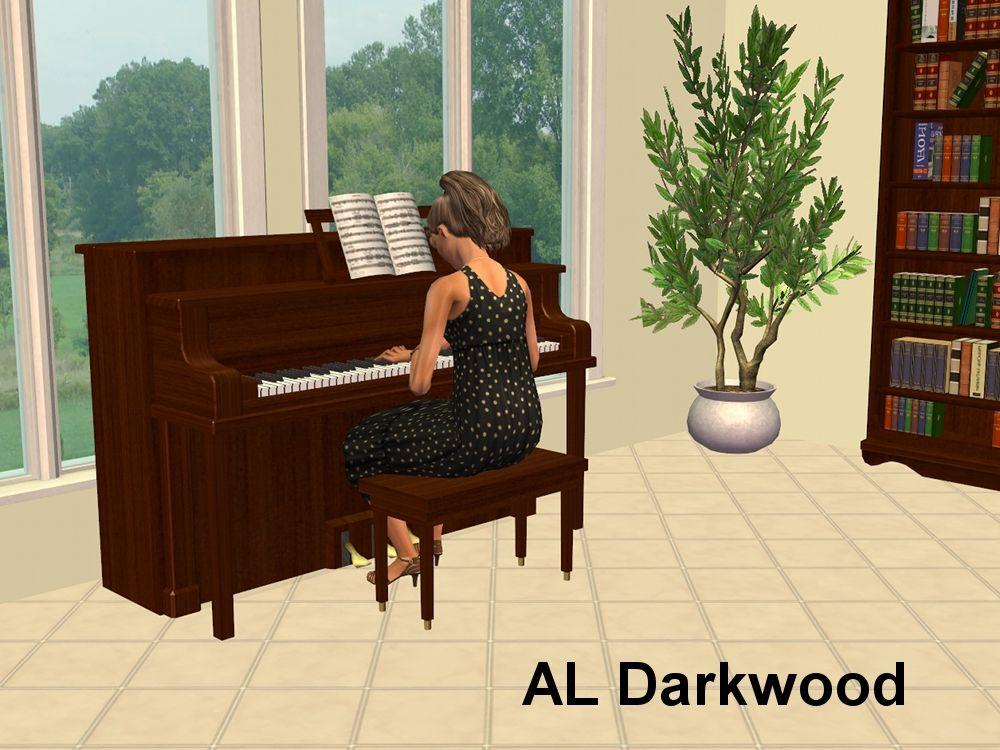 Mod The Sims Phaenoh's Upright Piano Recolours Piano