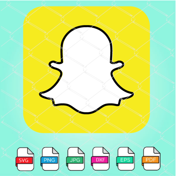 Snapchat Logo Vector Snapchat Logo Svg in 2020 Vector
