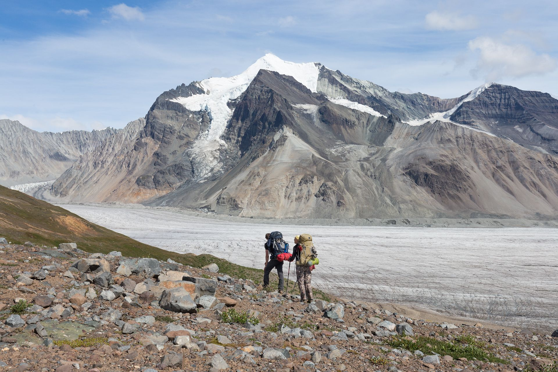 backpacking through wrangell-st. elias national park the largest