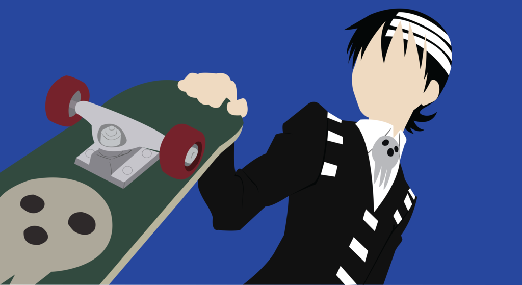 Minimalist Soul Eater Death The Kid Soul Eater Anime Shows