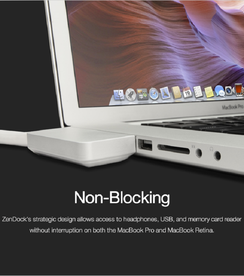 Finally A Stylish Dock For The Macbook