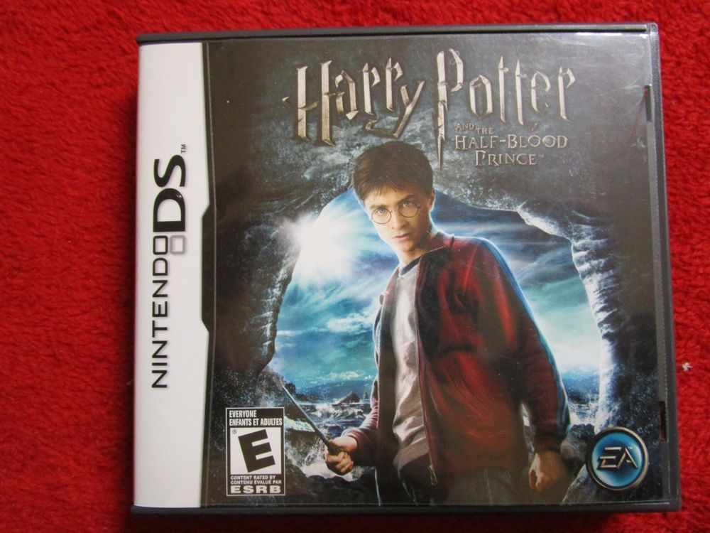 Harry Potter And The Half Blood Prince Nintendo Ds Dsi 2ds 3ds 3dsxl