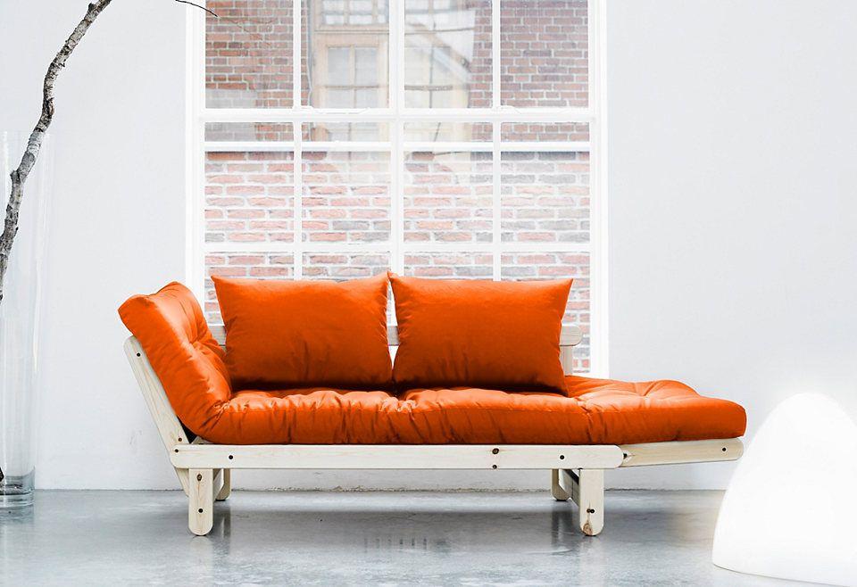 karup schlafosfa beat inkl futonmatratze pinterest recamiere matratze und schlafsofa. Black Bedroom Furniture Sets. Home Design Ideas