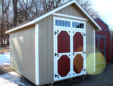 Portable Storage Shed Styles | Eagle Creek Builders ...