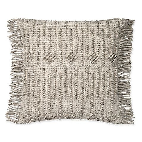 An Artful Finishing Touch For Your Global Chic Home The Everett Throw Pillow From Magnolia Home Adds A Throw Pillows Square Throw Pillow Handmade Throw Pillow