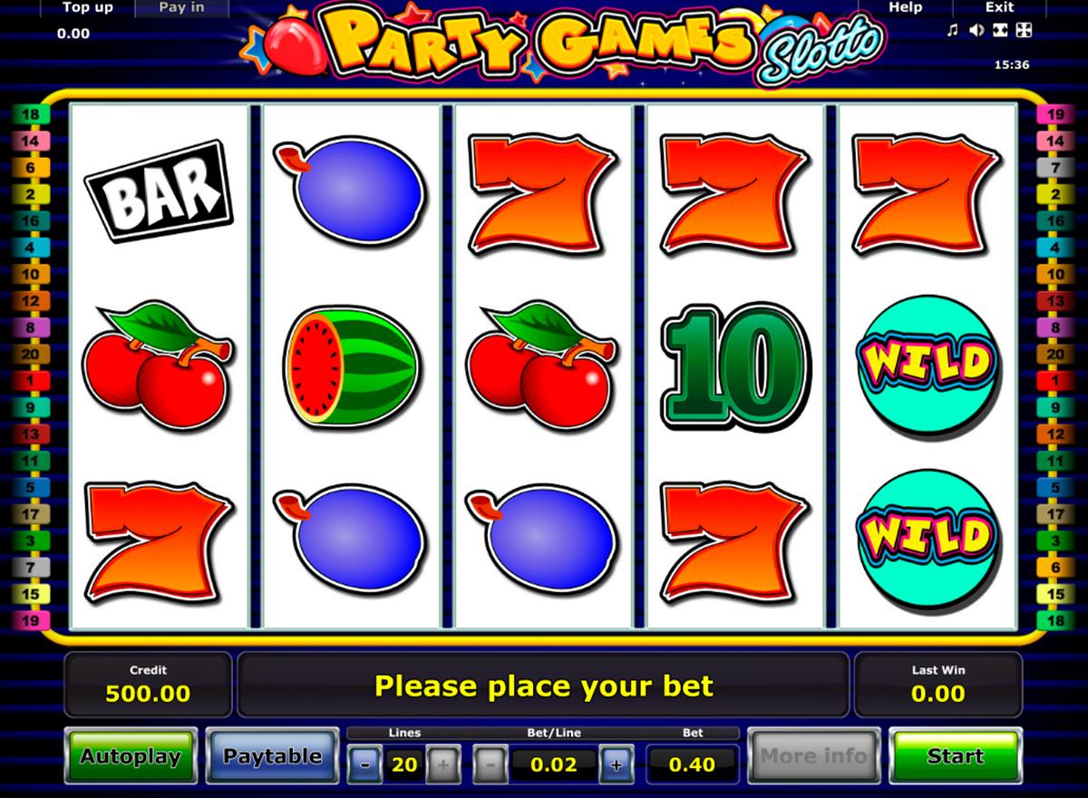 spiele casino party