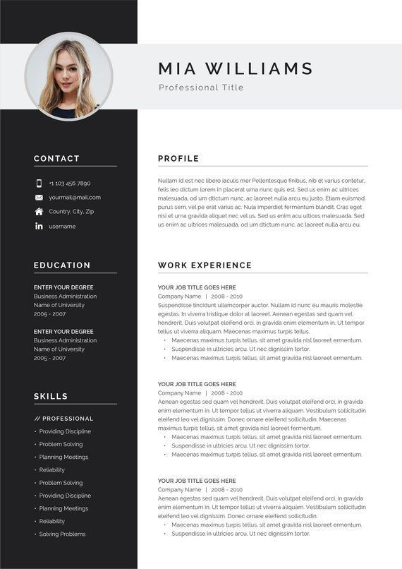 Pin By Mckinney Stanley My Blog On Cv Examples Resume Cover Letter Template Resume Template Word Resume Words