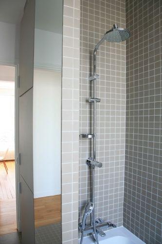 petit carreaux salle de bain Pinterest House - petit carreau salle de bain