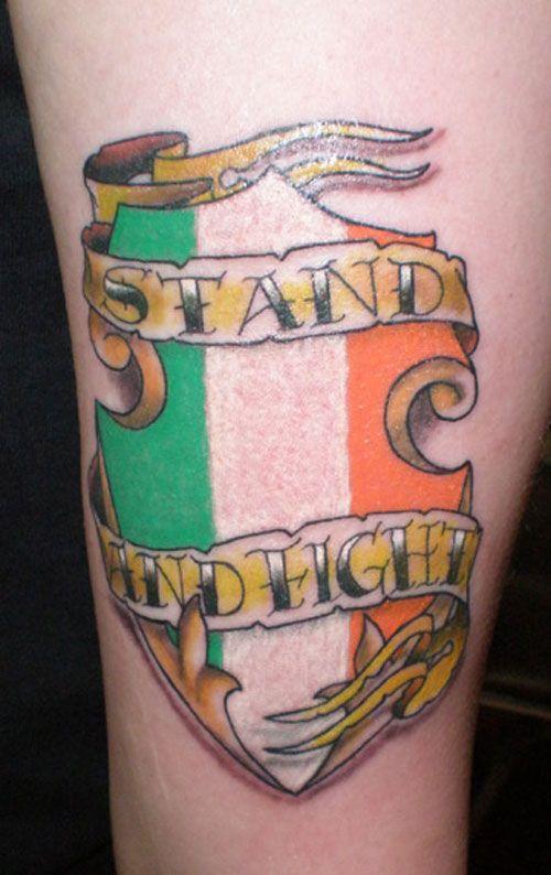 Irish Shield Tattoo | Tattoos | Irish tattoos, Rebel tattoo, Tattoos