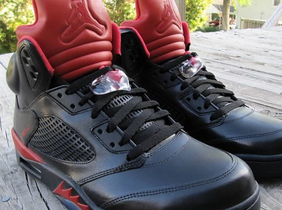 "Air Jordan 5 ""Infrared"" Customs by Cali Kid Drew"