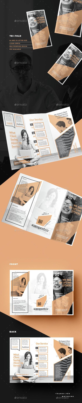 Trifold | Folletos, Tríptico y Diseño editorial