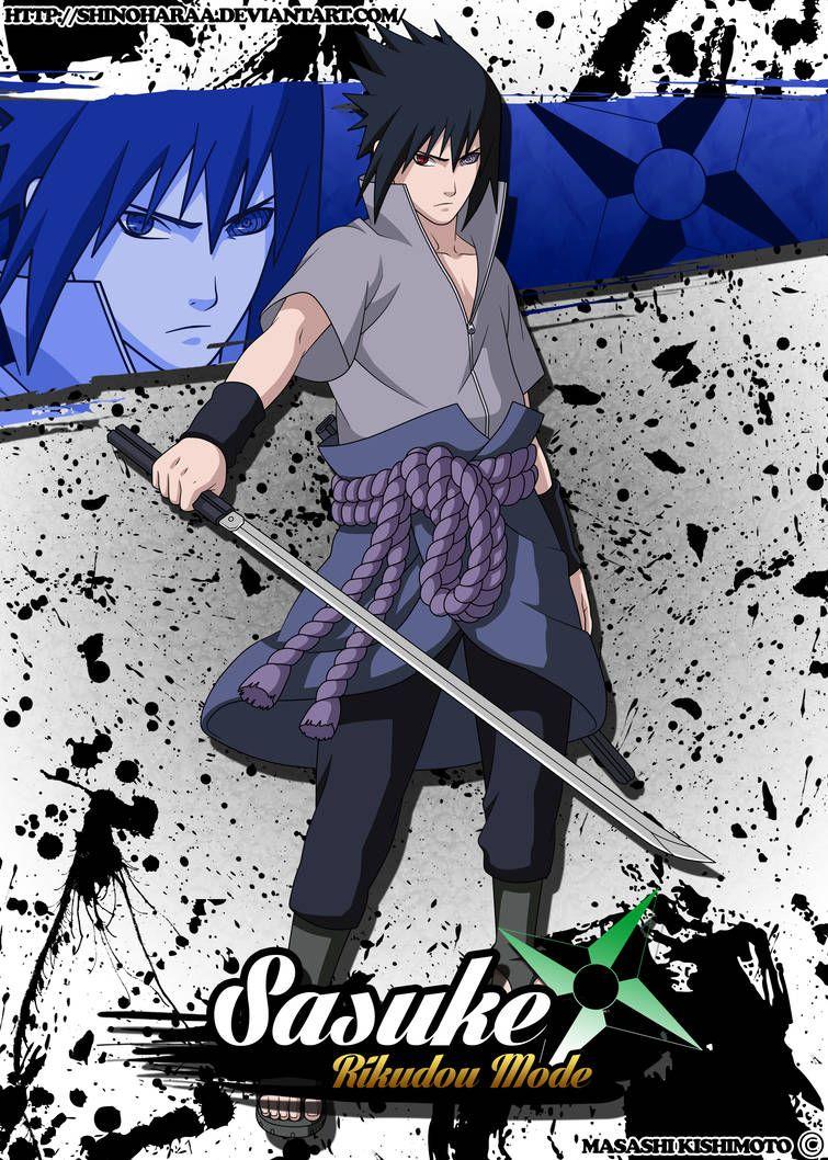 Sasuke Uchiha Rikudou Mode By Shinoharaa