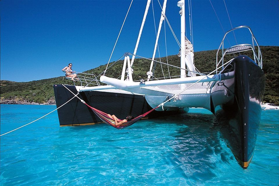 Another advantage of multi hulls | Living on a Sailboat