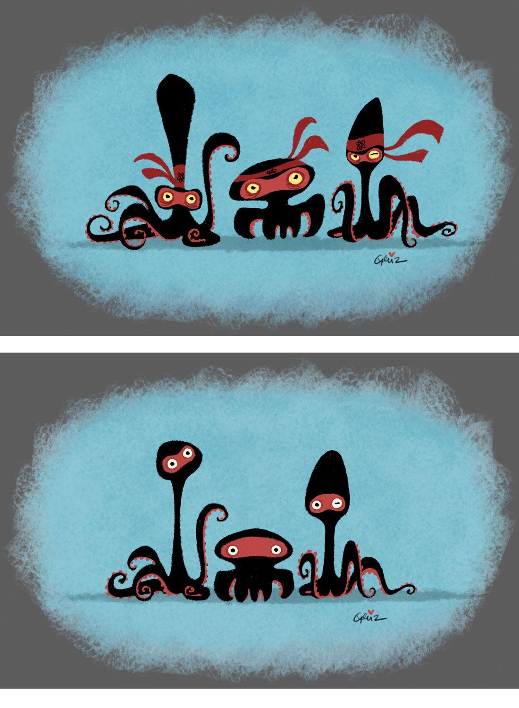 Penguins of Madagascar, por Griselda Sastrawinata | THECAB - The Concept Art Blog