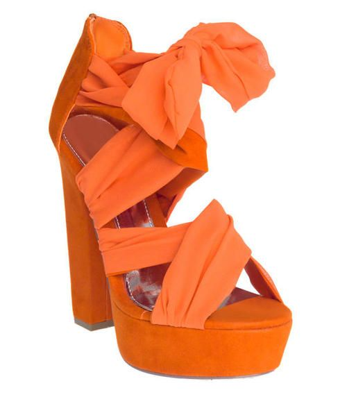 1000  images about Orange Shoes on Pinterest | Ladies shoes Chuck