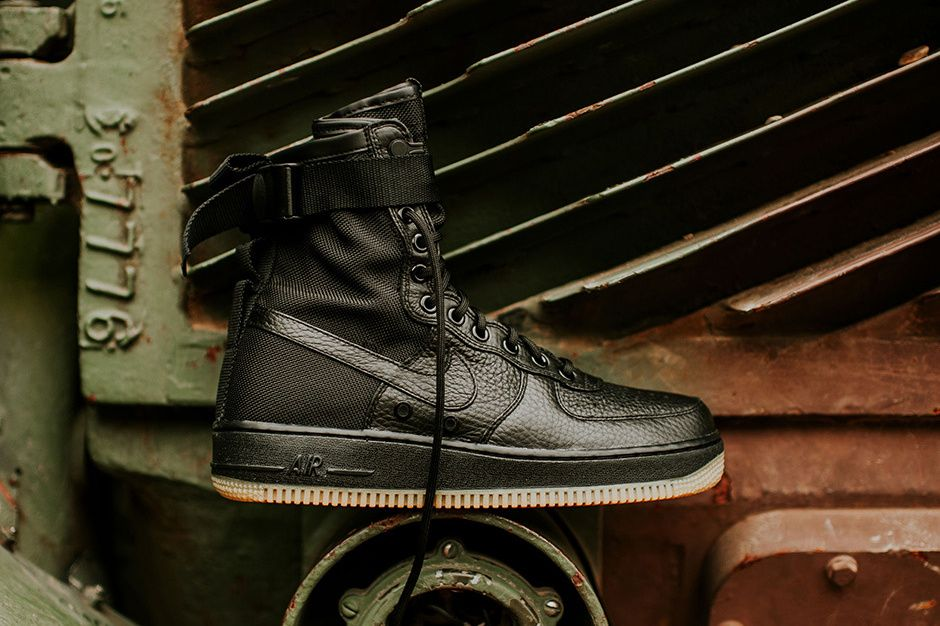 ec68aa9250058f Nike s Modified SF-AF1 Drops in Black   Gum Next Week