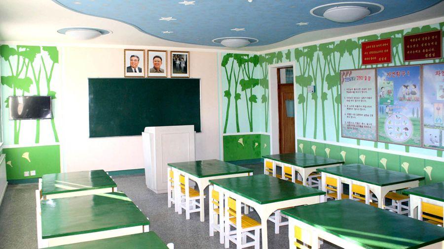사리원초등학원 준공식 진행