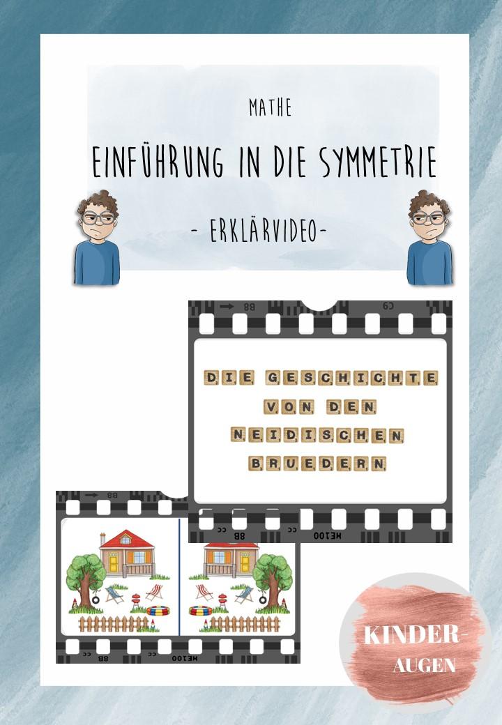 Erklarvideo Einfuhrung In Die Symmetrie Unterrichtsmaterial Im Fach Mathematik Ideen Fur Die Schule Unterrichtsmaterial Lernen