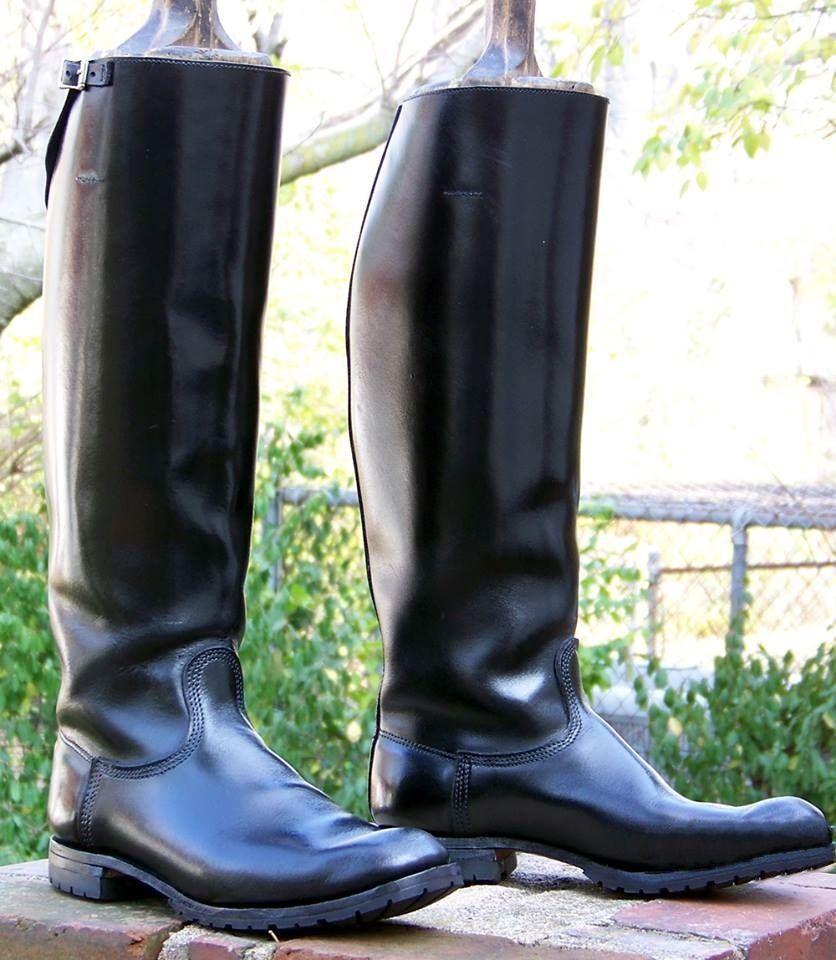 black leather boots mens uk