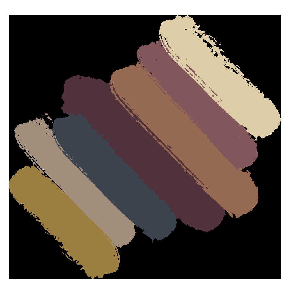 Aficionado color palette from the 2019 Sherwin Williams Colormix Color Forecast