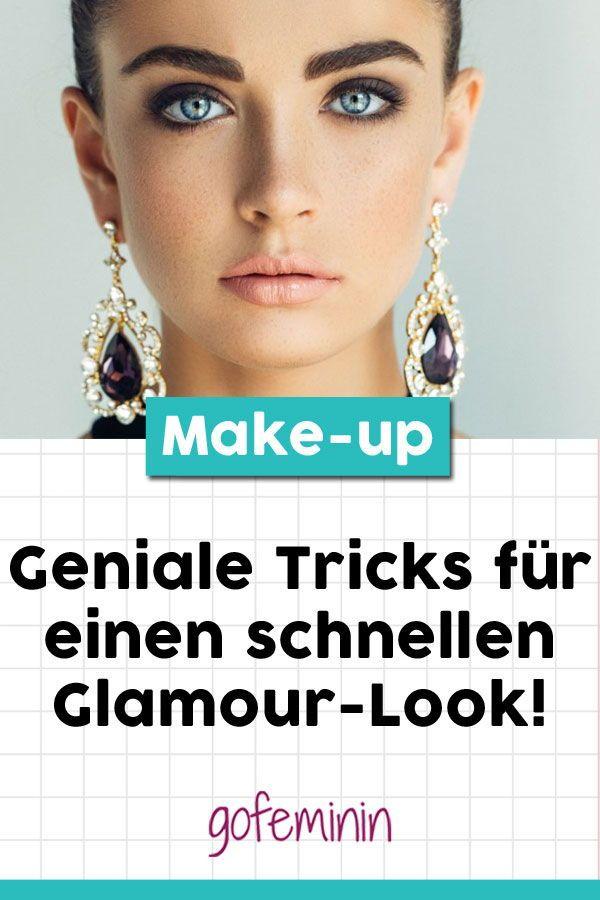 Photo of Abend-Make-up: Einfache Tricks für einen schnellen Glamour-Look