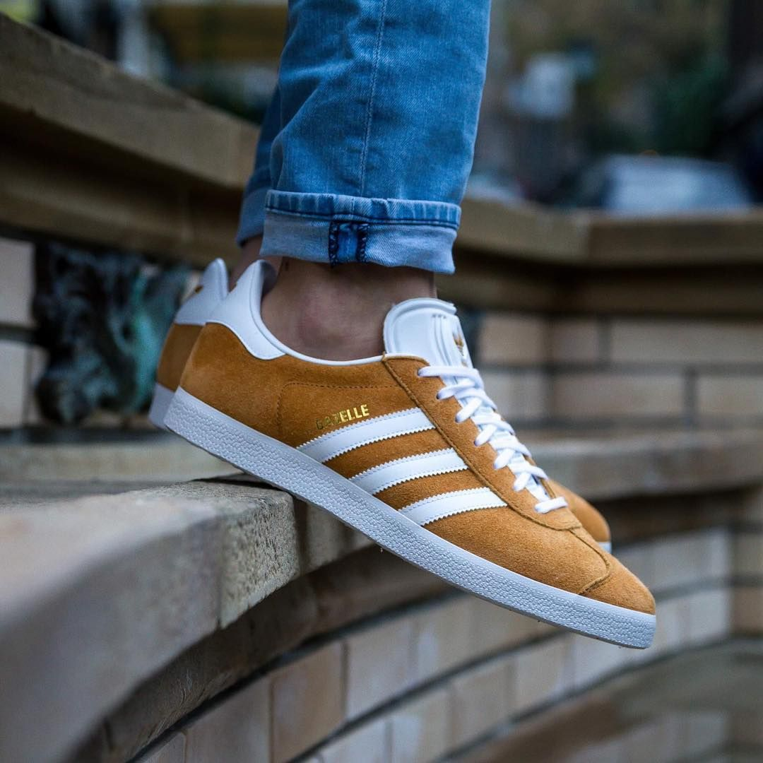 Adidas Gazelle available in BUZZ