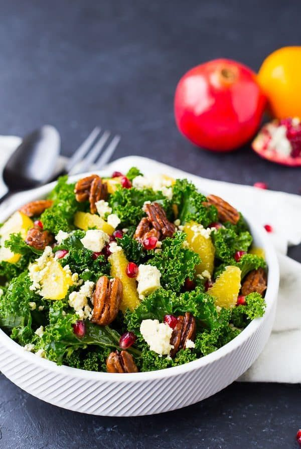 boasting the flavors and colors of christmas this christmas salad recipe will be a welcome healthy addition to any holiday menu get the recipe on