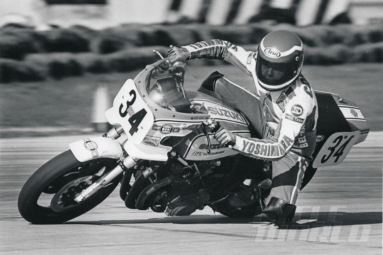 Wes cooley yoshimura on the legendary suzuki gs 1000 s for Cooley motors used cars