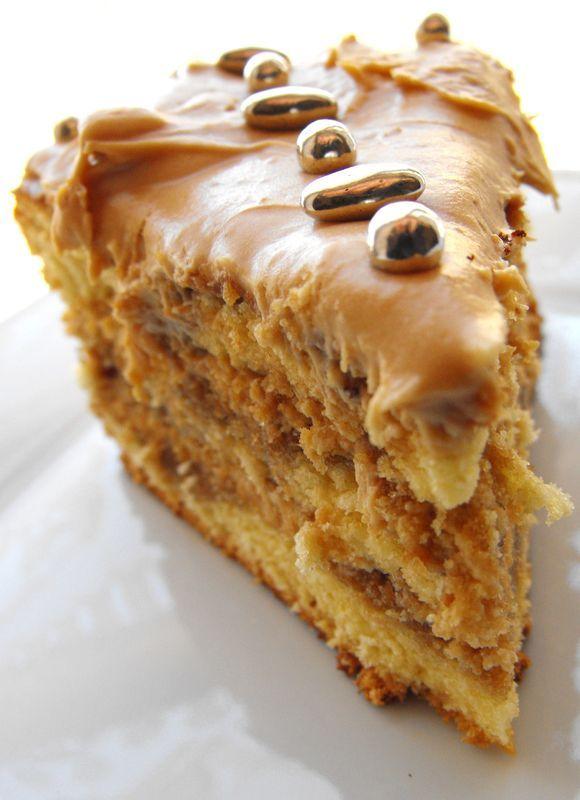 Creamy coffee mocha cakexxxxxx - Marie's cooking le blog