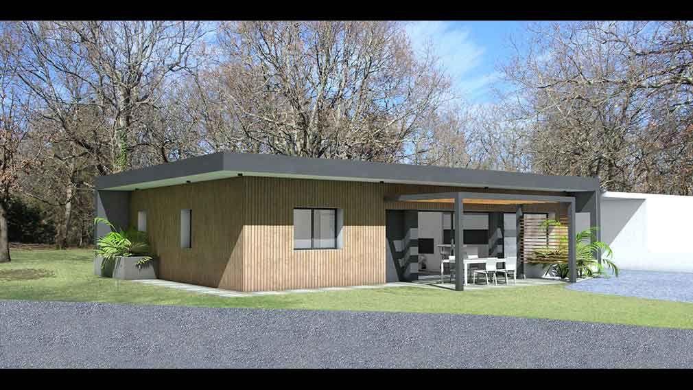 Atelier du0027Architecture Scénario - Maison contemporaine du0027architecte - assainissement d une maison