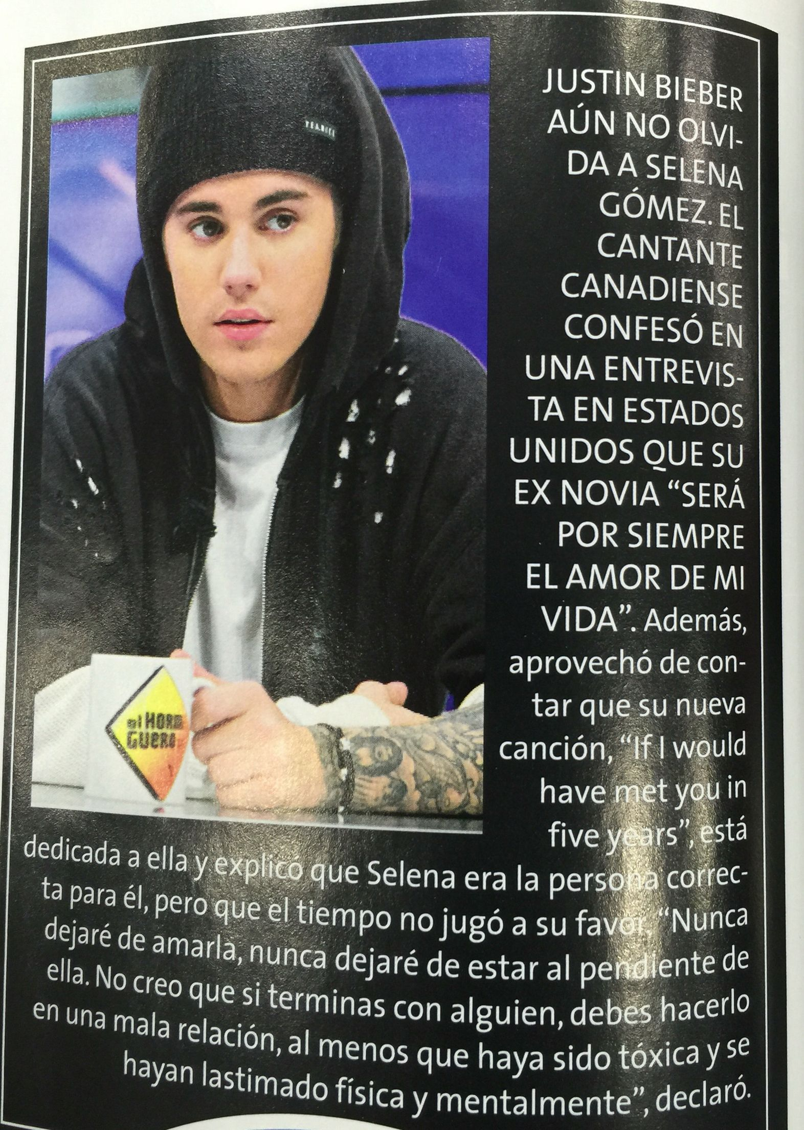 Justin Bieber 2015