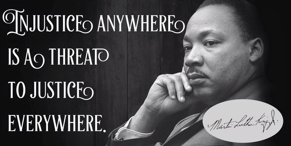 Injustice Anywhere Is A Threat To Justice Everywhere Martin Luther King Thedailyquotes Com Inspirational Quotes Motivation Inspirational Words Soul Quotes