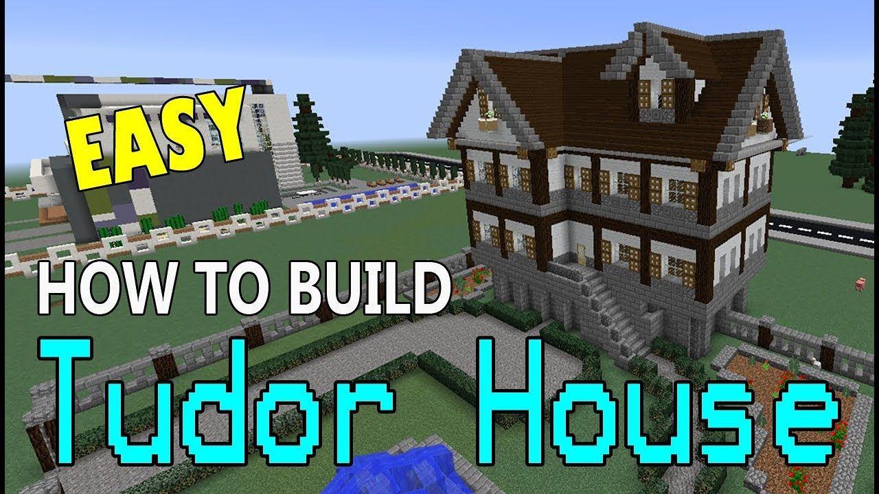 Minecraft How To Build A Tudor House The Easy Way Minecraftbuild Minecraft Minecraftinspiration Minecrafthouse Mine Minecraft Tudor House Minecraft Houses