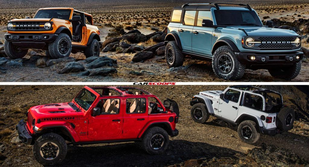 2021 Ford Bronco Vs 2020 Jeep Wrangler Can The Bronco Steal Some