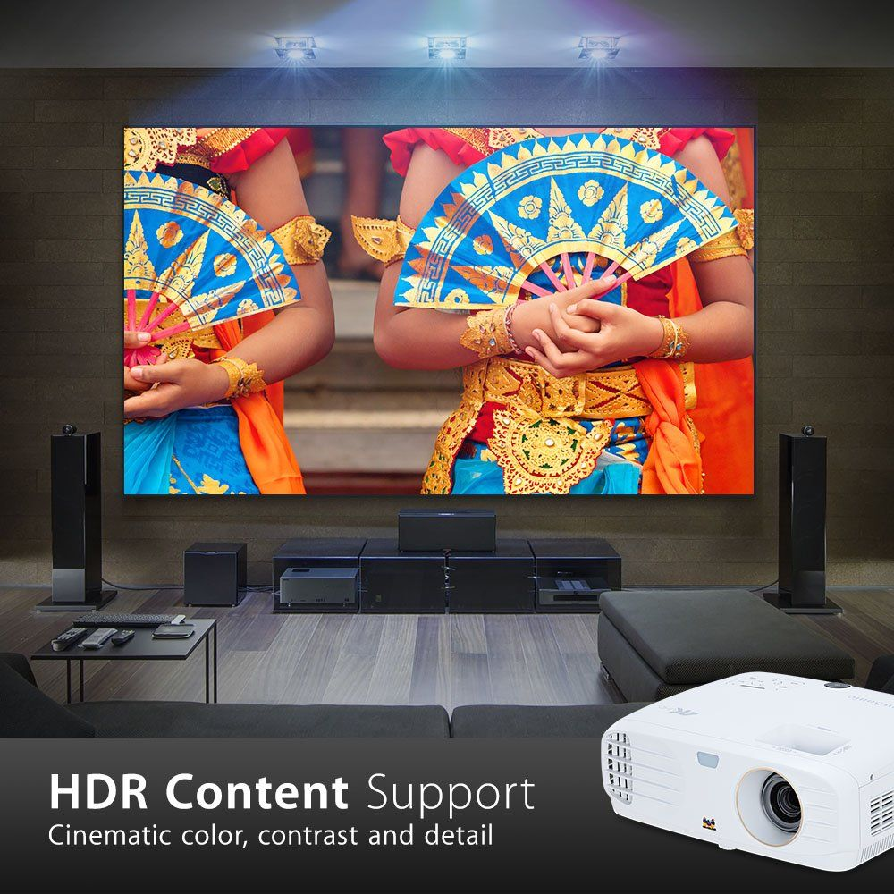 Viewsonic 4k Projector Hdr Content Support Cool Things To Buy Best Projector Cinema Experience