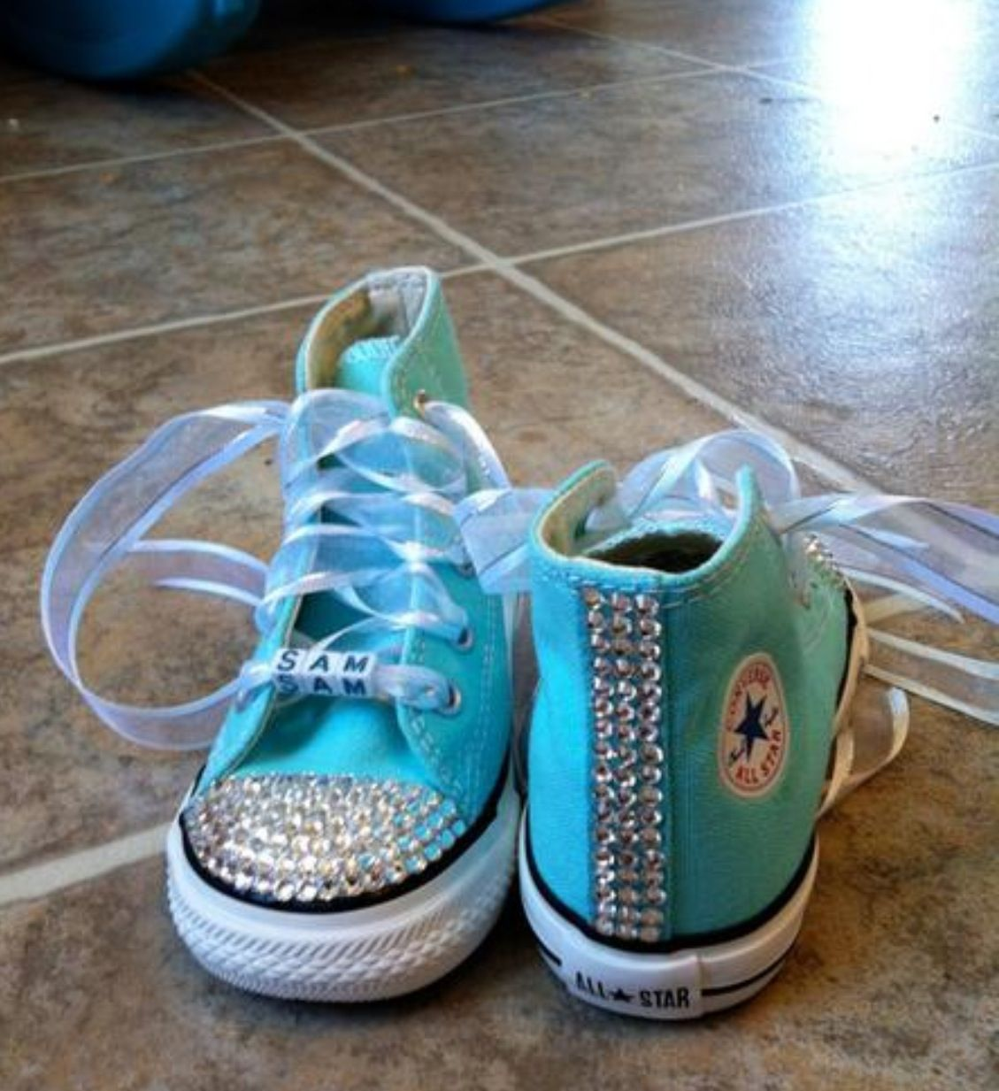 Blinged out converse · Converse Shoes For GirlsBling ...