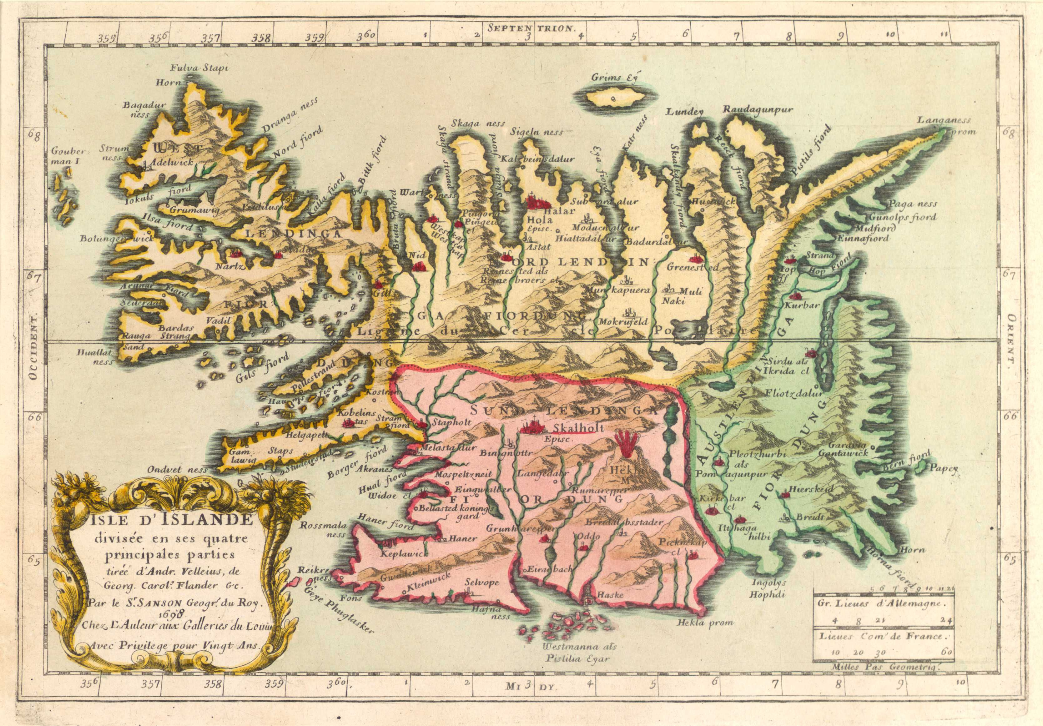Pin by miss otto on Map of Iceland | Pinterest | Map, Vintage world ...